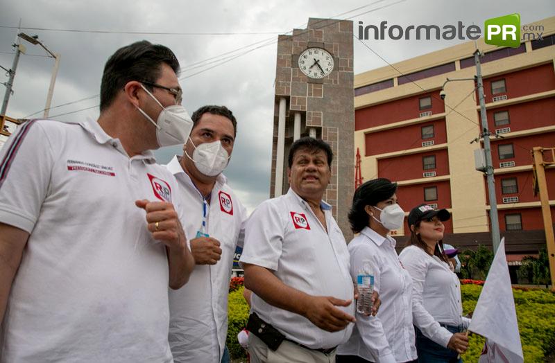 Fernando González Sánchez, Antonio Lagunes Toral y Cesar Ulises Rivera Garza