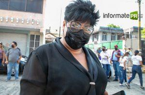 Zayma Zamora García, candidata a la alcaldía de Poza Rica por Unidad Ciudadana (Foto: Jorge Huerta E.)